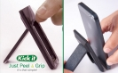 Kick it cell phone stand just peel and grip