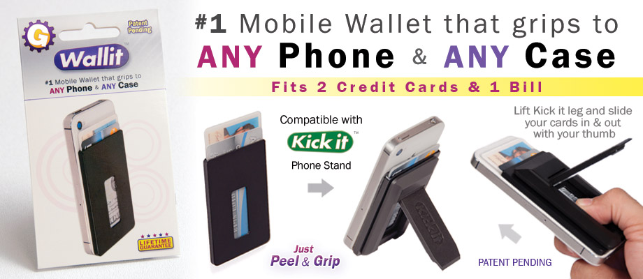 cell phone wallet accessory