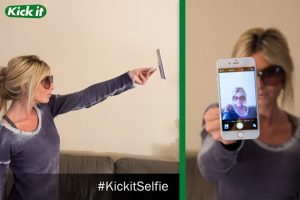Kick it selfie stick captures the best photos