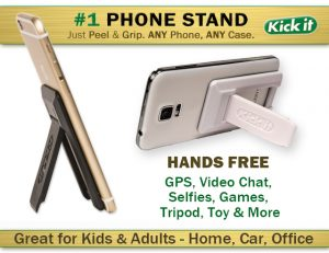 Kick it Cell Phone Stand